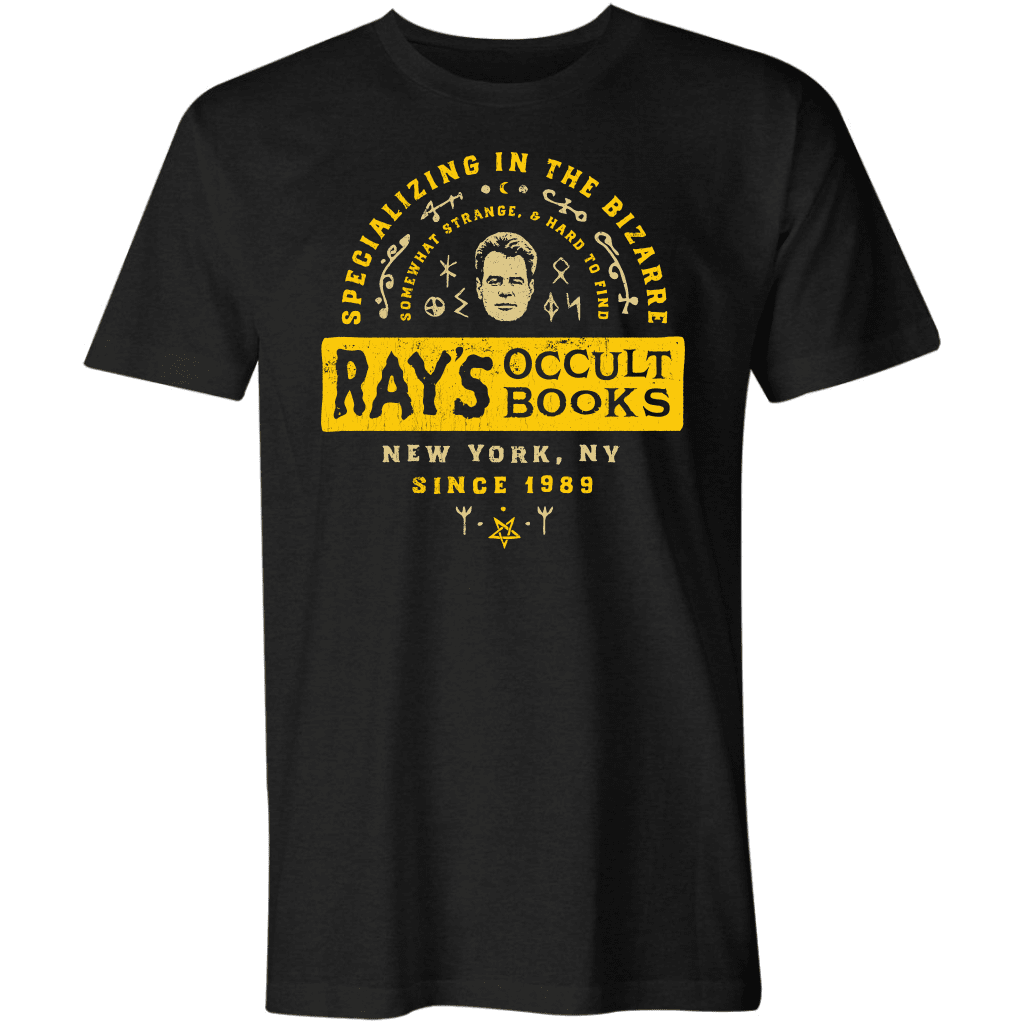 Ray's Occult Books - Mens Deluxe T-Shirt / Black / S