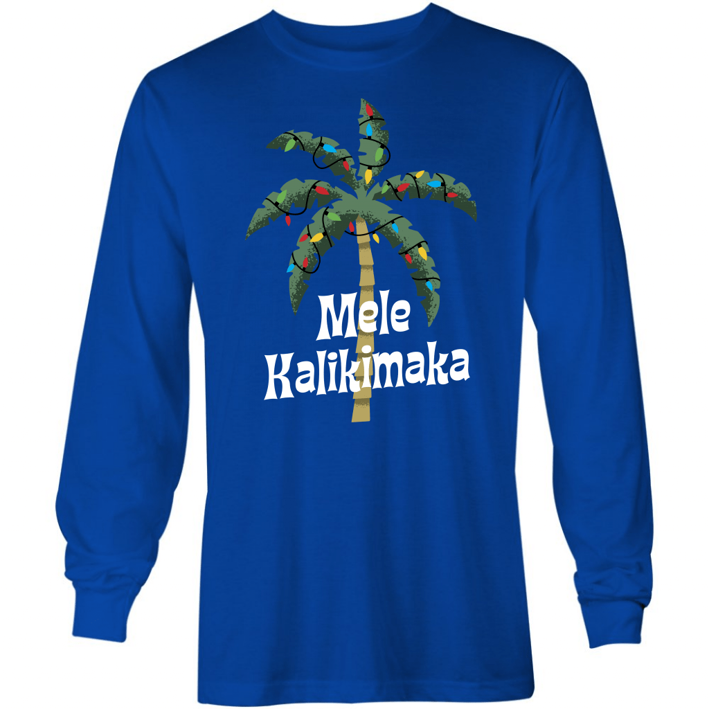 Mele Kalikimaka - Long Sleeve T-Shirt