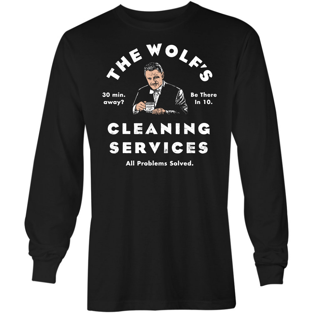 The Wolf's Cleaning Services - Long Sleeve T-Shirt