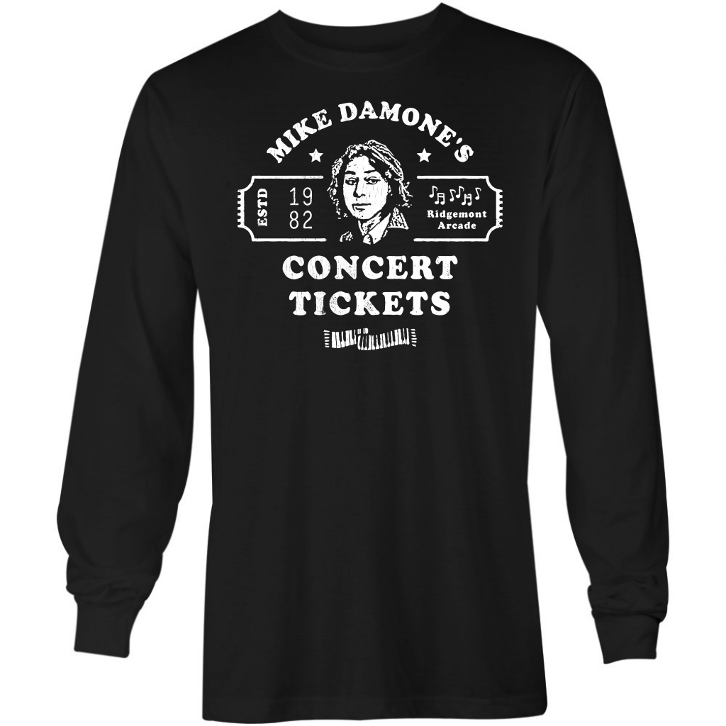 Mike Damone's Concert Tickets - Long Sleeve T-Shirt