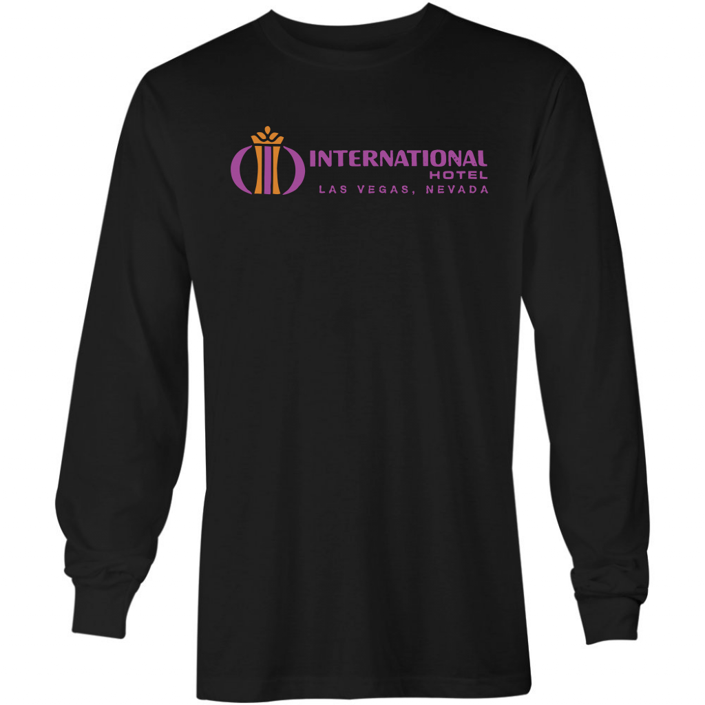 International Hotel - Vintage Las Vegas - Long Sleeve T-Shirt