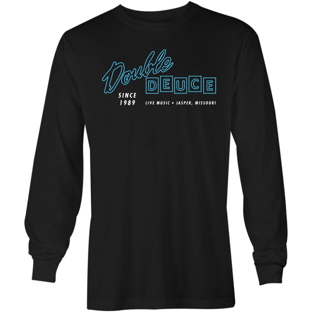 Road House - Double Deuce - Long Sleeve T-Shirt