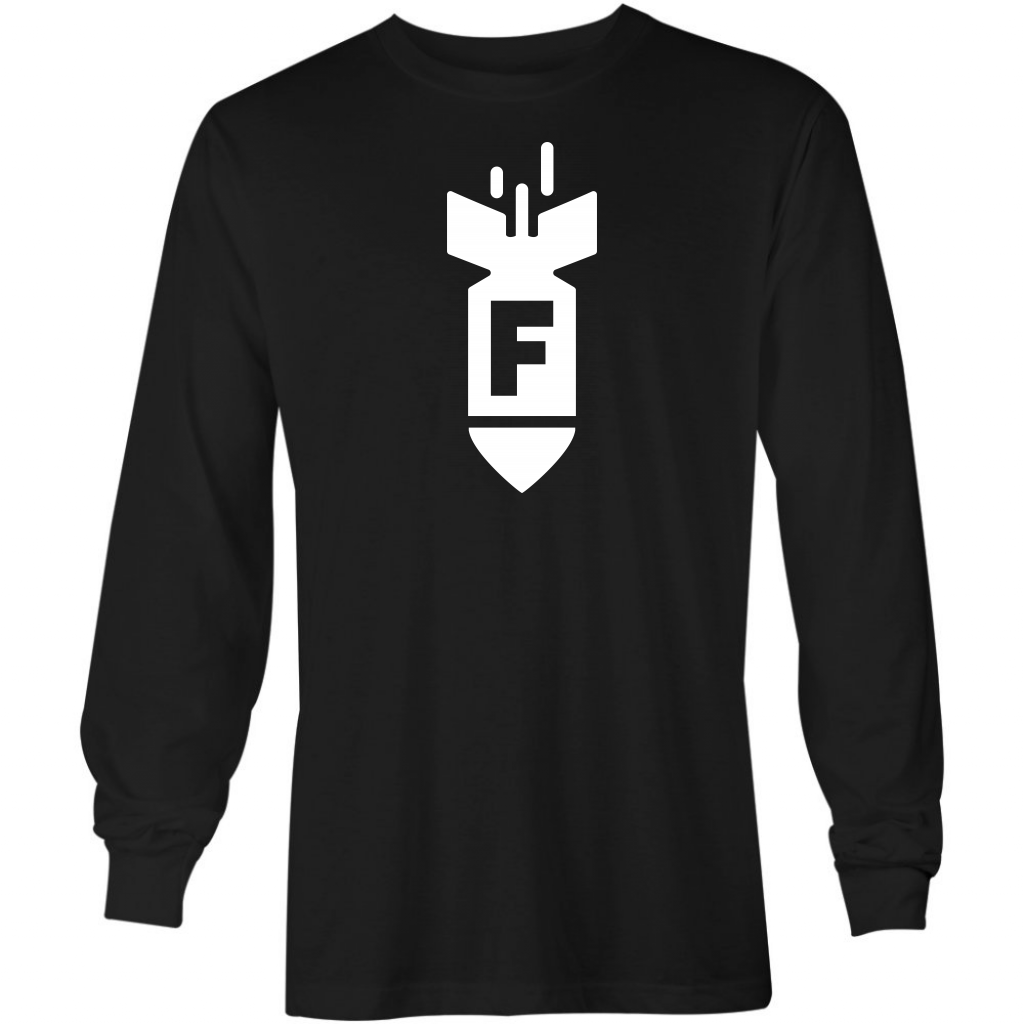 F Bomb - Long Sleeve T-Shirt