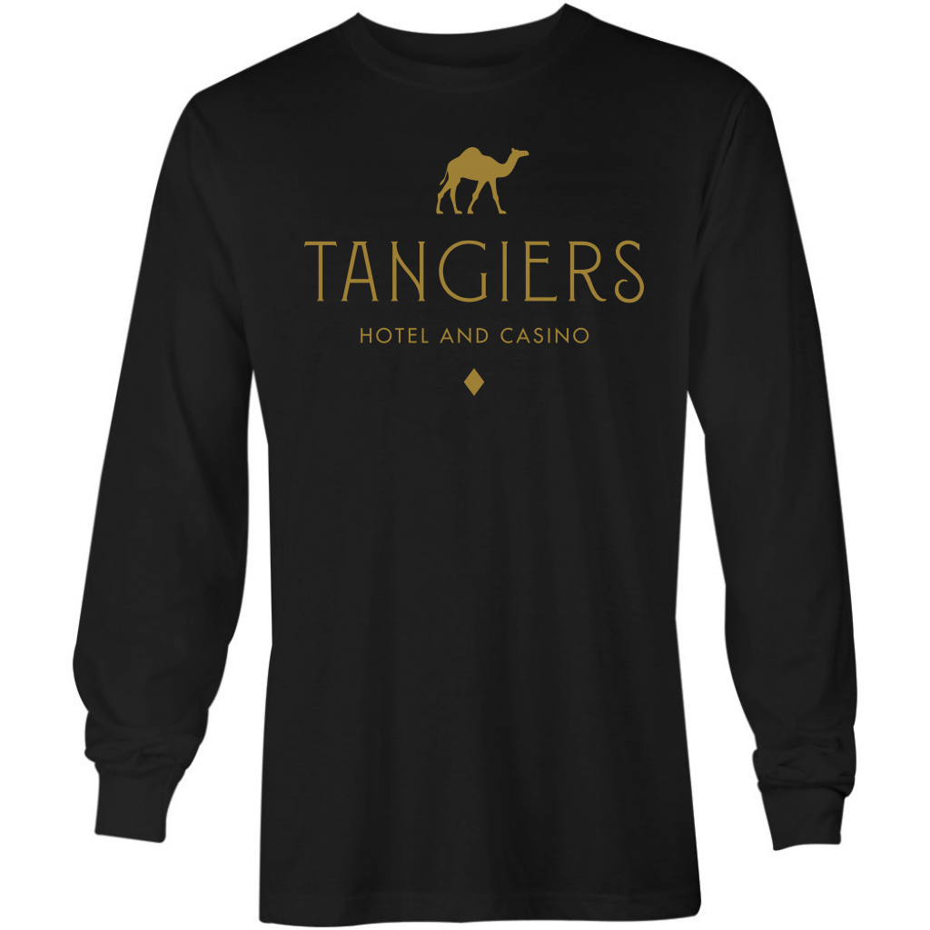 Tangiers Hotel & Casino - Long Sleeve T-Shirt