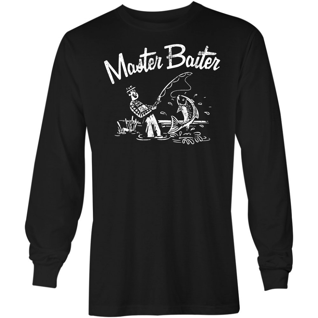 Master Baiter - Long Sleeve T-Shirt