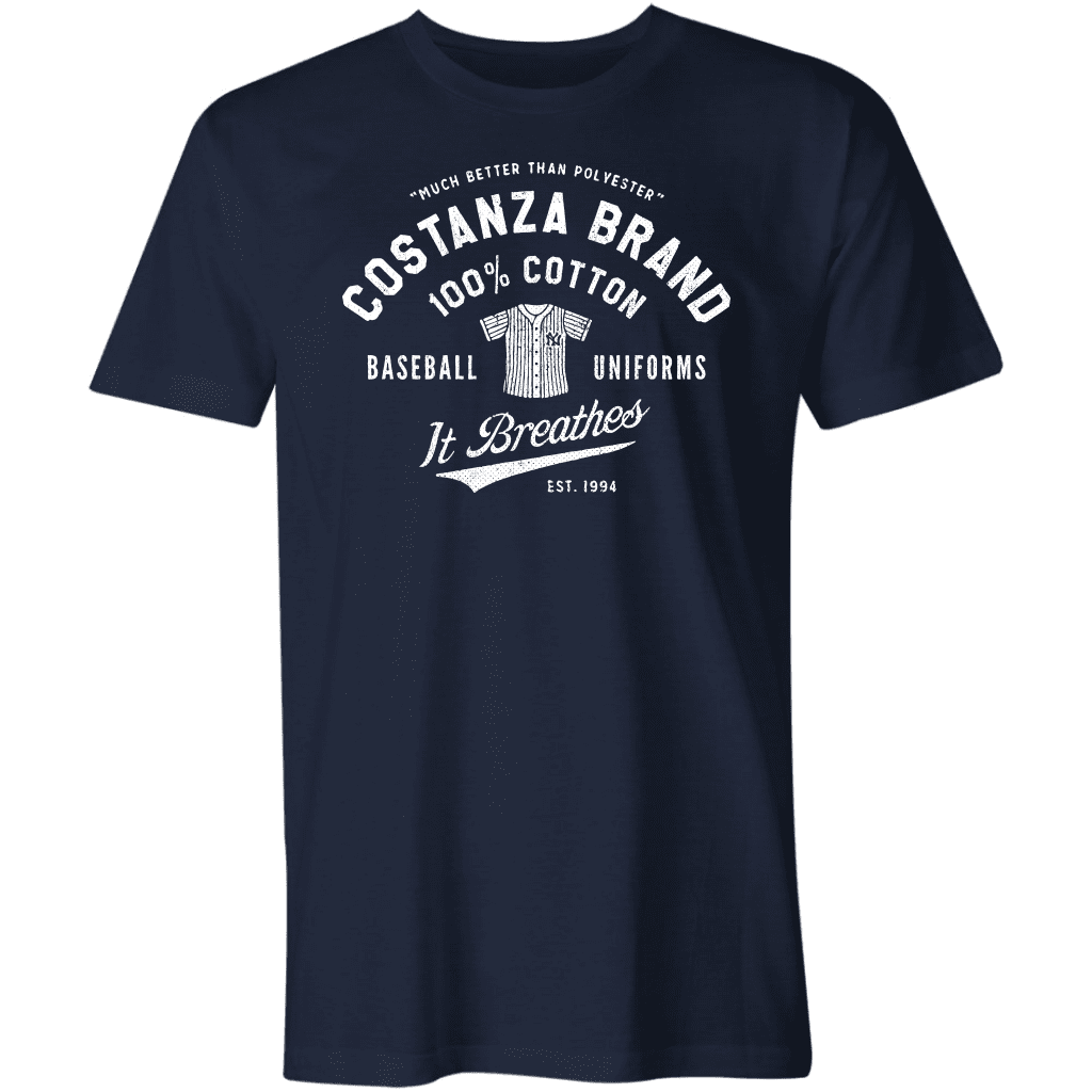 Costanza Brand Cotton Baseball Uniforms