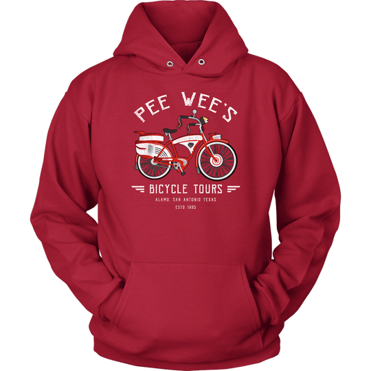 Pee Wee's Bicycle Tours Hoodie