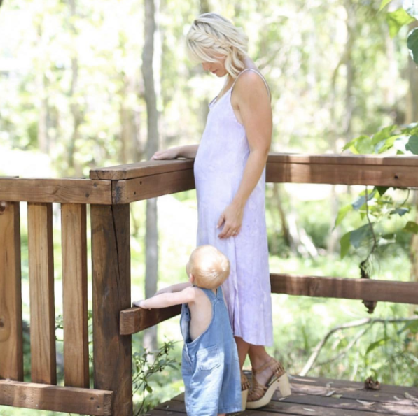 Boho Luxe Maternity Style