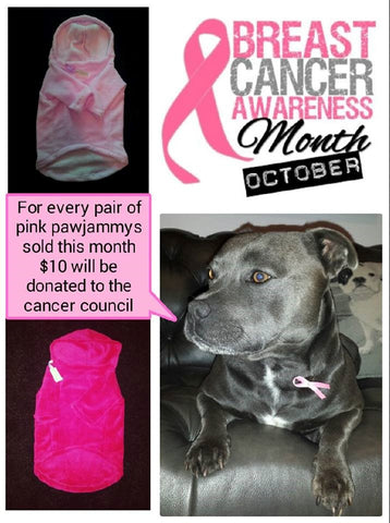 Denzel Supporting Breast cancer awearness Via staffy Clothing promotion