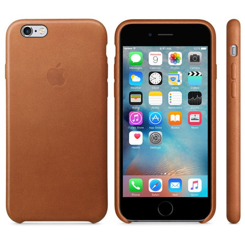 Apple leather iphone case