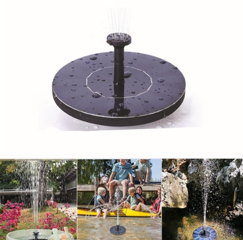Eco-friendly Solar Water Fountain