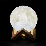Glowing 3D Moon Lamp for Christmas