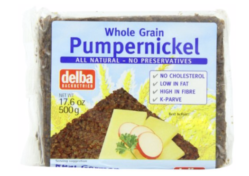 Delba Pumpernickel Bread