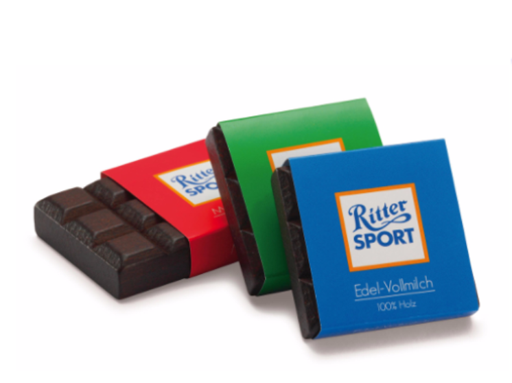 Ritter Sport Milk Chocolates