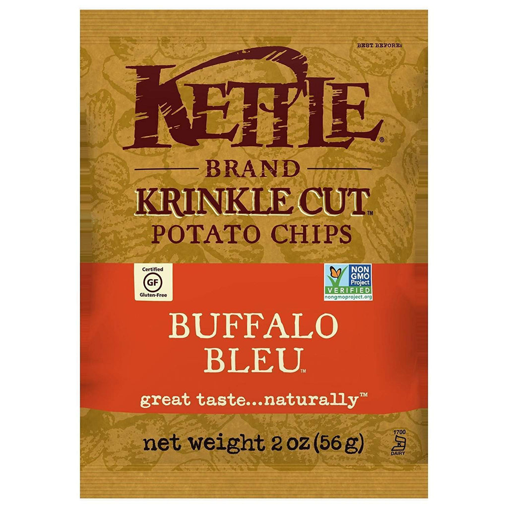 Kettle Chips Krinkle Cut Buffalo Bleu Flavor