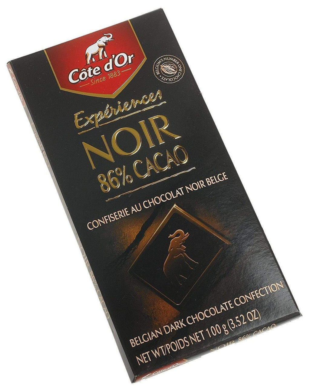 Cote D'or Dark (86%) Brut Chocolate Cocoa