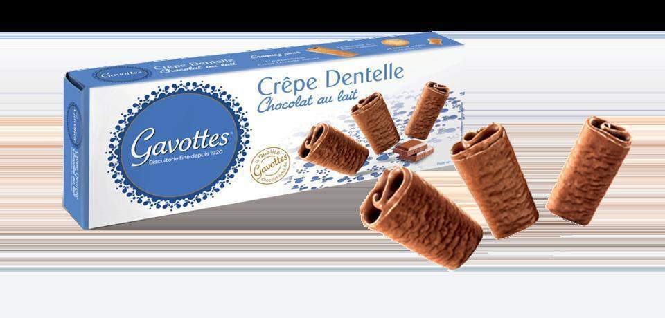 Gavottes Crepes dentelle Milk Chocolate Cookies