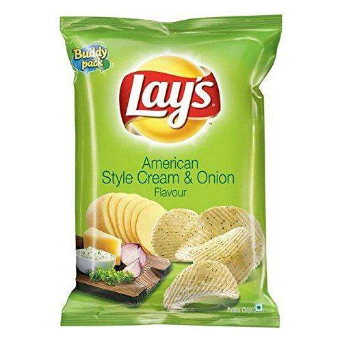 Lay's American Style Cream & Onion