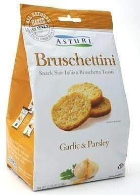 Asturi Bruschettini w/ Garlic & Parsley