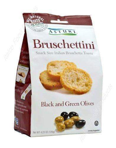 Asturi Bruschettini Green & Black Olive