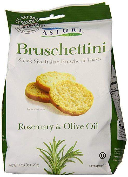 Asturi Bruschettini Rosemary and Olive Oil