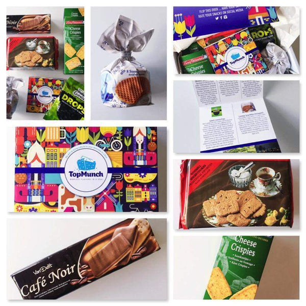 Netherlands TopMunch Cultural Experience Box - Available for Sale