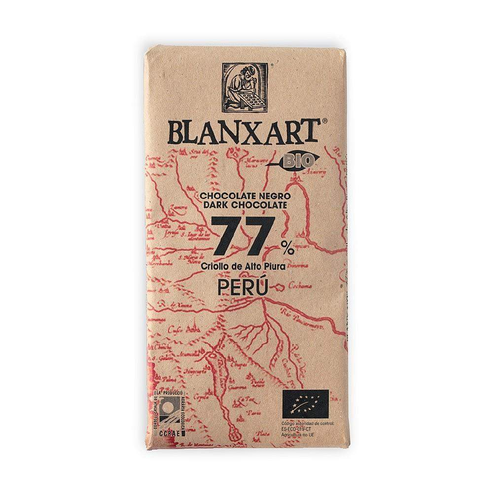 Blanxart Chocolate Negro 77% - Peru(Single Origin)