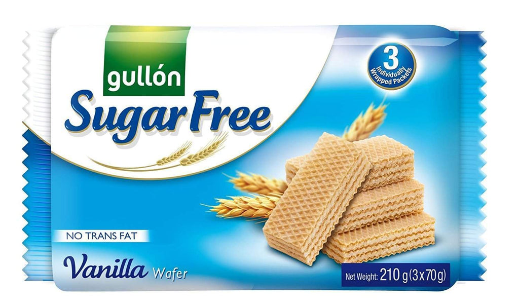 Gullon Vanilla Sugar Free wafers