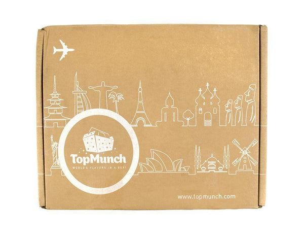 Monthly TopMunch Cultural Snack Box