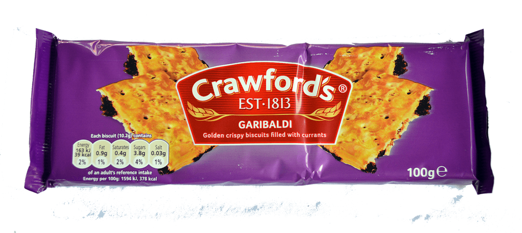 McVities Crawford Garibaldi
