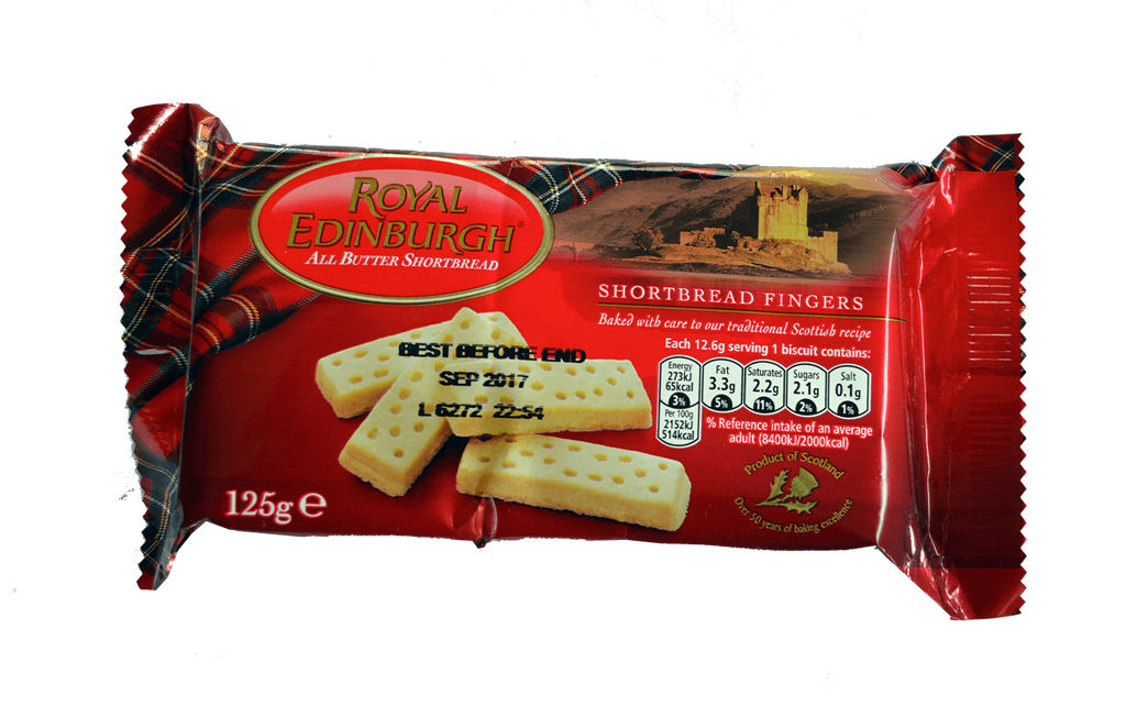 Royal Edinburgh Scottish Shortbread Biscuits