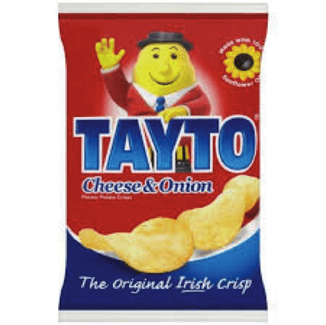 Tayto Chips – Cheese & Onion