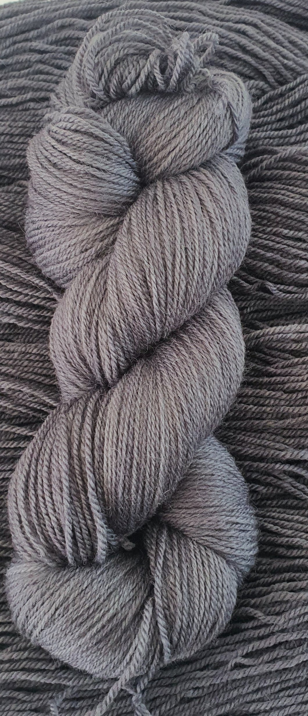 Grey - 4ply Polwarth/Alpaca