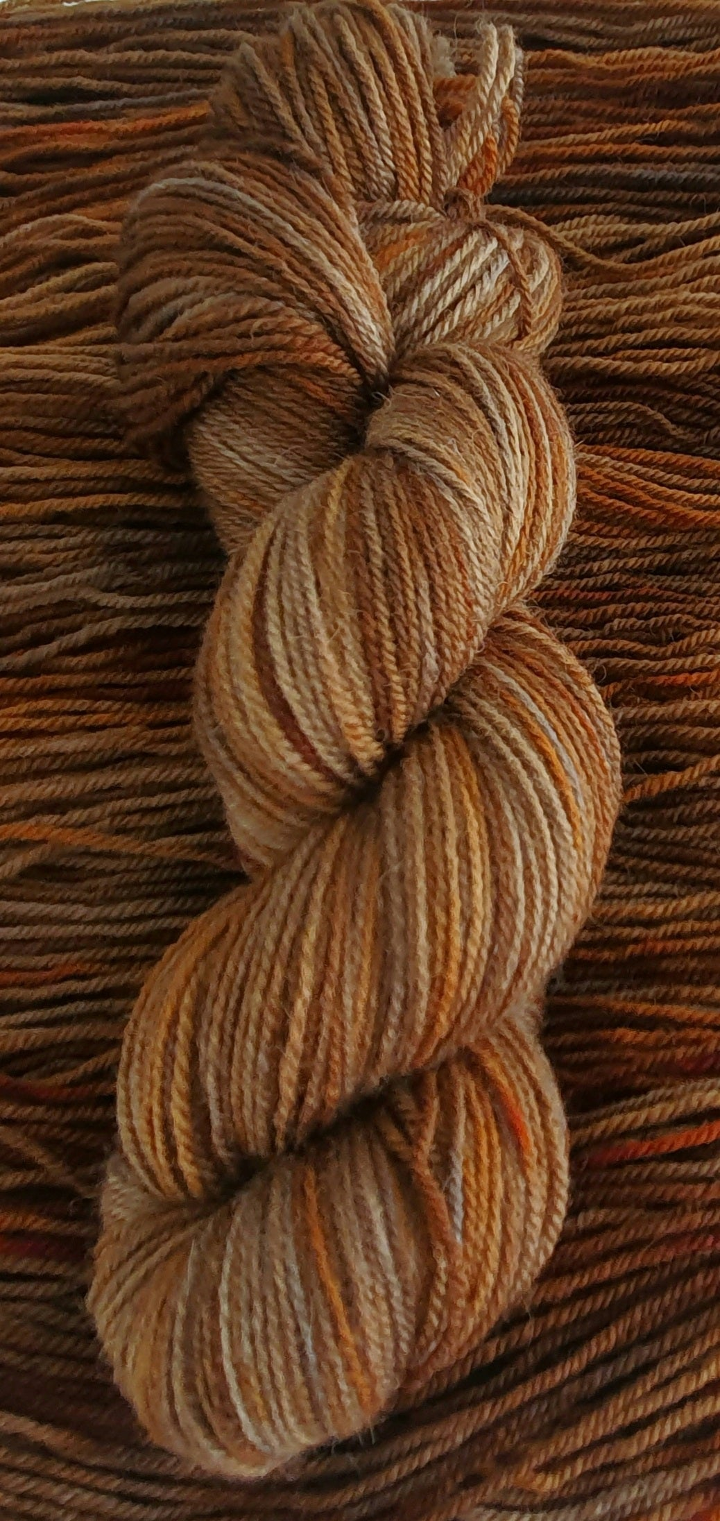 Rusted Out - 4ply Polwarth/Alpaca