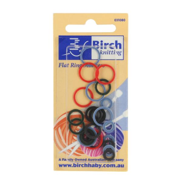 Birch Stitch markers 24 piece