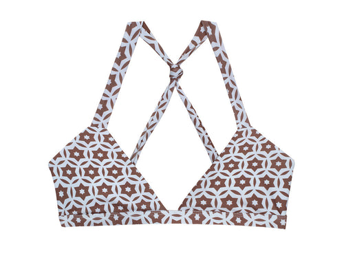 Citrine Isabela Top - Taupe Tile