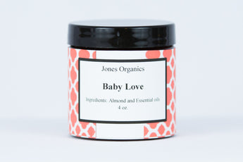 Baby Love Sugar Scrub Exfoliating Clean Natural Organics Body Product| Jones Organics