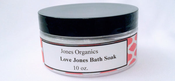 Relaxing Bath Soak Clean, Natural Body Products|Jones Organics
