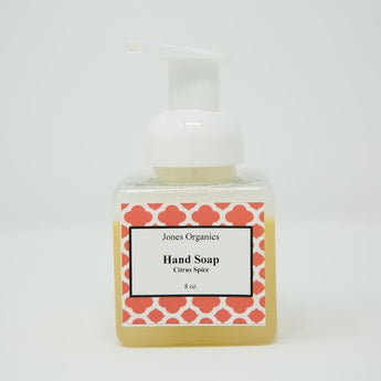 Citrus Spice Hand Soap Clean, Natural Home Products | Jones Organics