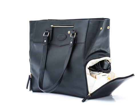 Josephine (Black) Breast Pump Bag