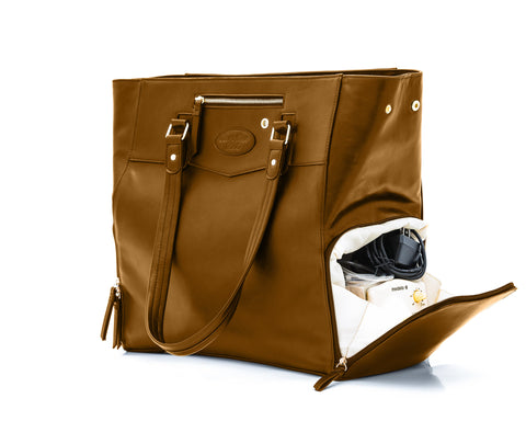 Josephine (Brown) Breast Pump Bag