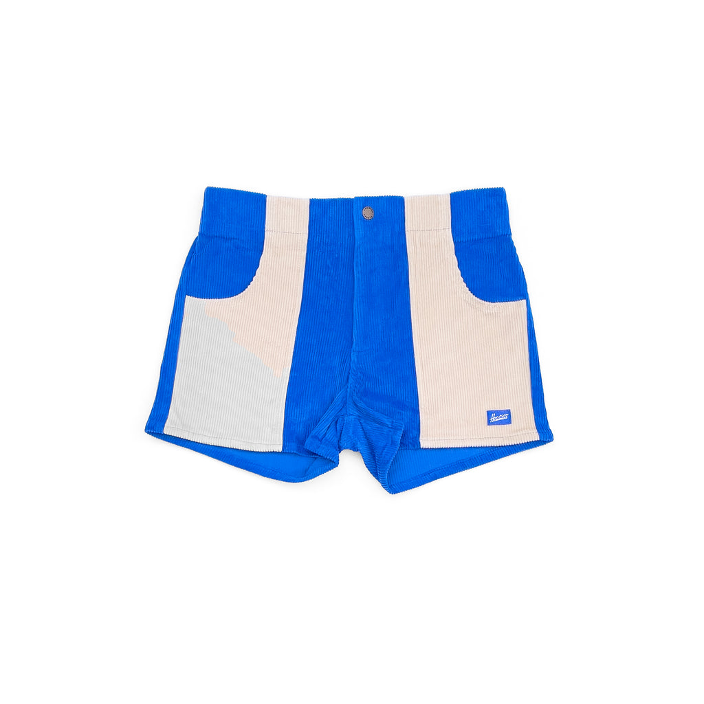 Hammies Women's Two-Tone Short (Blue/Sand)