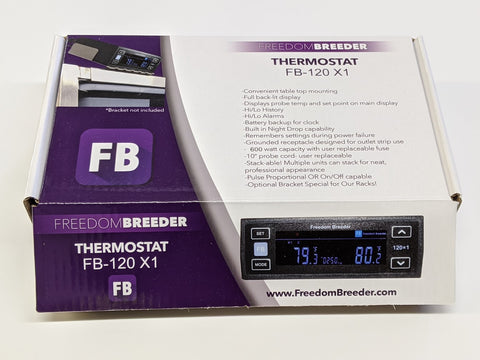 FB120x1 Single Output Thermostat