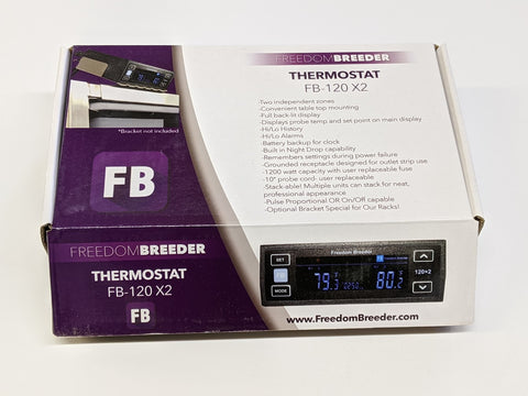 FB120x2 Dual Output Thermostat