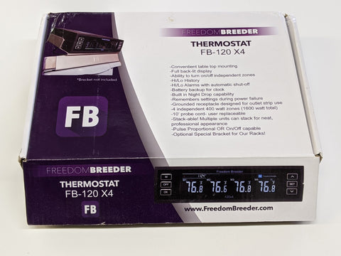 FB120x4 Four Output Thermostat