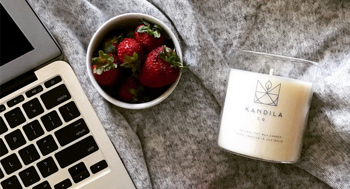 Kandila Co Natural Soy Wax Candles Hand-crafted in Australia