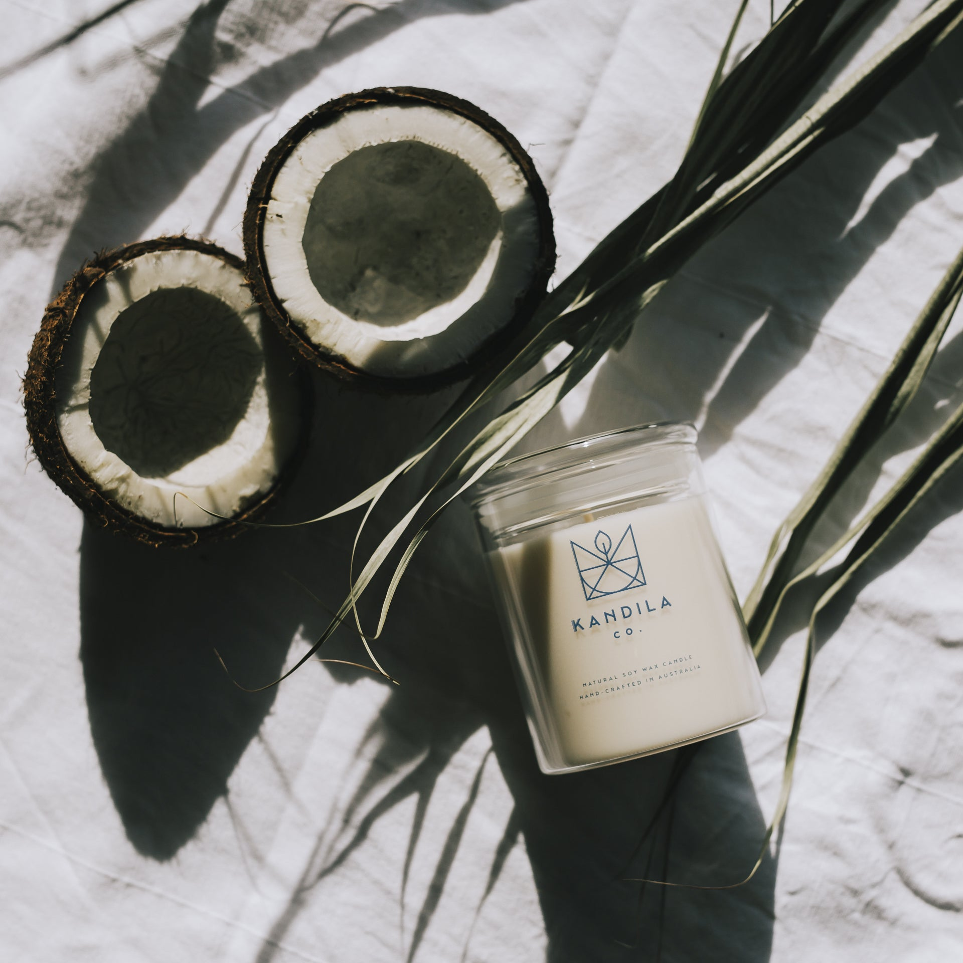 Kandila Company Tropical Treat Natural Vegan Soy Candle Melbourne Australia