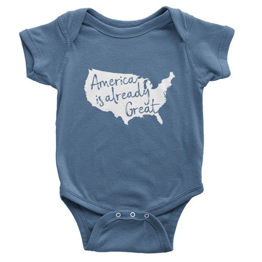 America Is Already Great Onesie // Organic Cotton