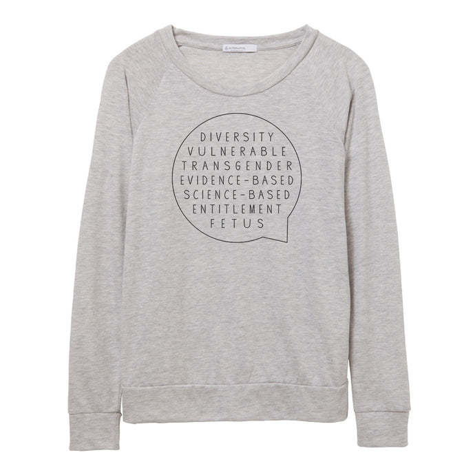 Say Banned Words Pullover // Women's