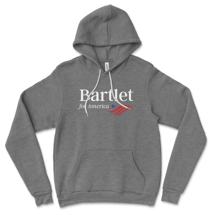 Bartlet for President Hoodie // Unisex
